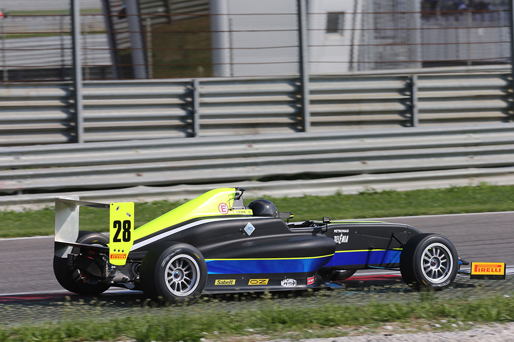 Punti e top 10 per Joao Vieira ad Adria nell'Italian F.4 Championship powered by Abarth
