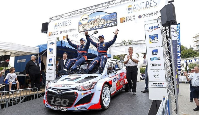Bouffier vince il Rallye Antibes