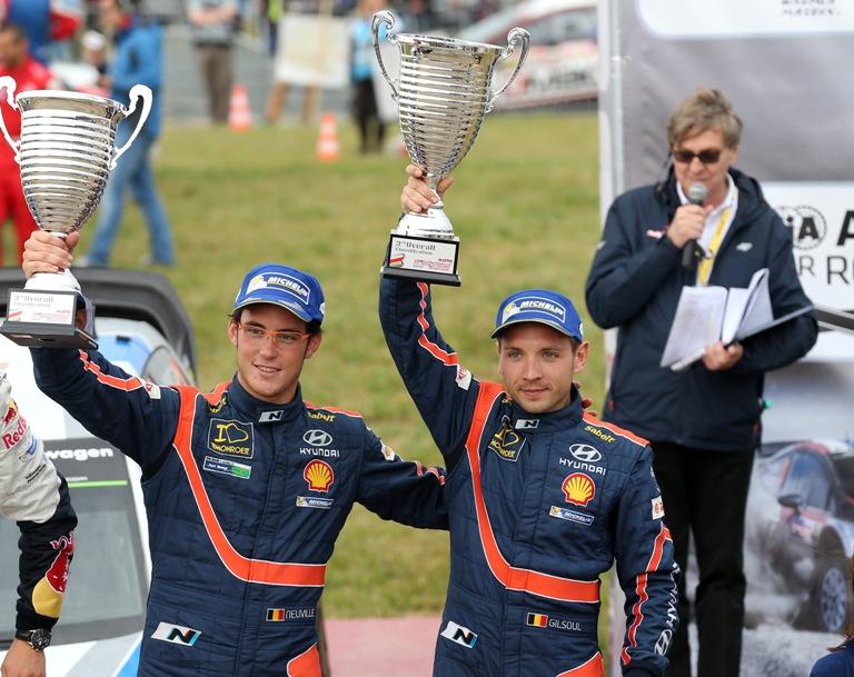 """WRC – Neuville: """"Bello essere di nuovo sul podio"""""""