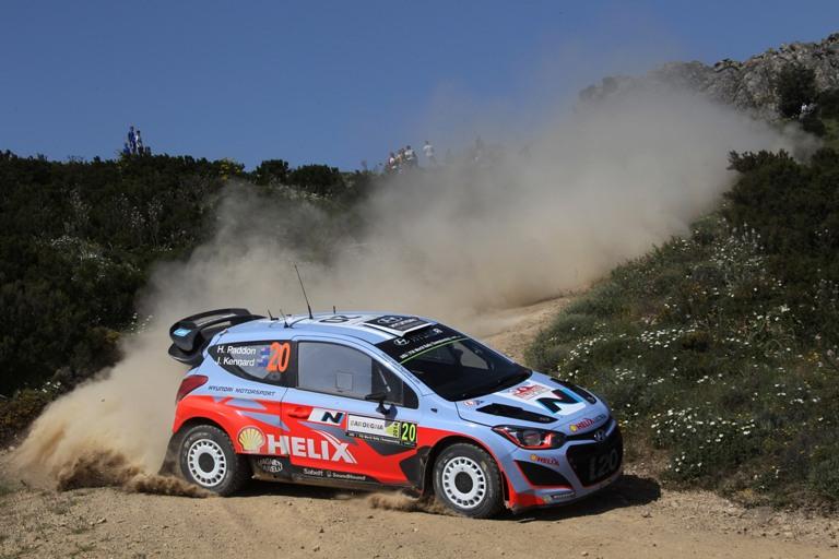WRC – Tanta sfortuna per la Hyundai in Sardegna