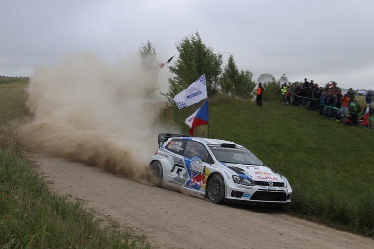 WRC – Ogier si fa sentire in Polonia