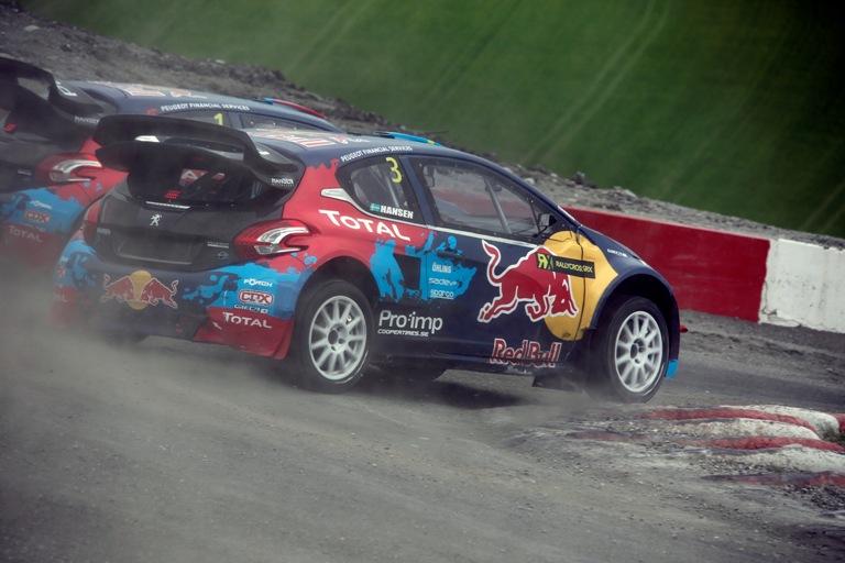 WRX – Buona prestazione di Peugeot in Norvegia