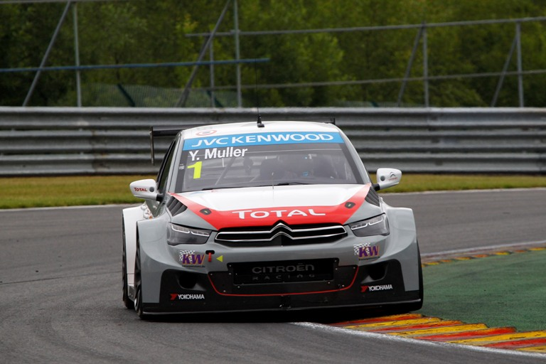WTCC – Müller in pole a Spa