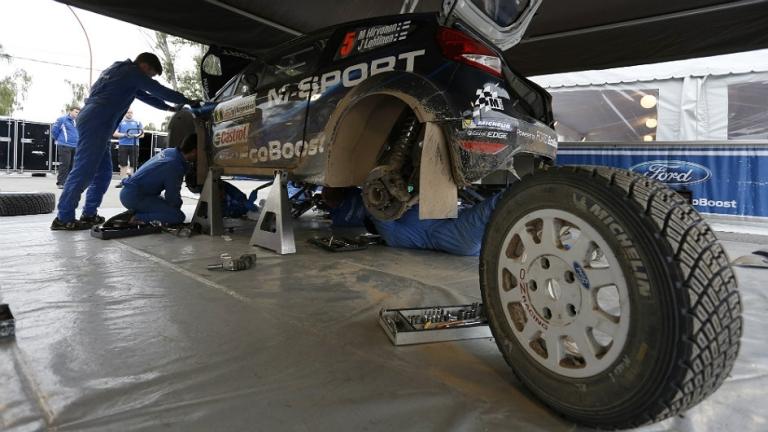 WRC – Test gomme ridotto per M-Sport in Finlandia