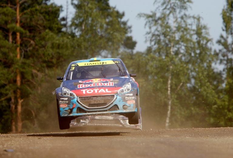 WRX – Sfortuna per il Team Peugeot Hansen in Finlandia