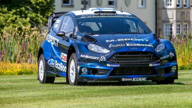 WRC – La Fiesta RS con un nuovo look in Finlandia