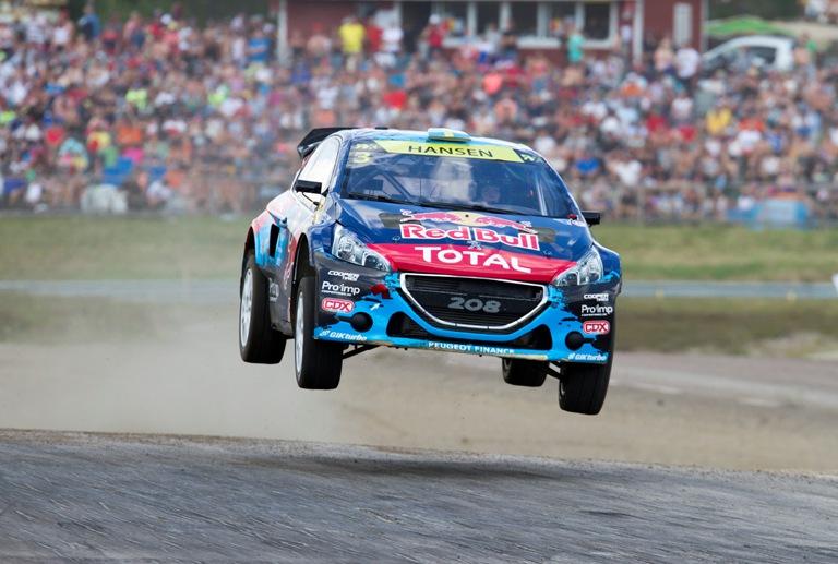 WRX – Sfortuna per il Team Peugeot-Hansen a Holjes