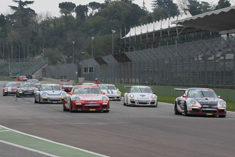 La Targa Tricolore Porsche verso Monza