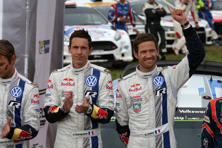"WRC – Ogier: ""Ho dovuto trattenermi dal spingere al massimo"""