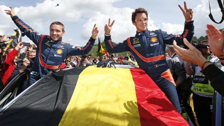 """WRC – Neuville: """"Vittoria ricompensa per il grande lavoro del team"""""""