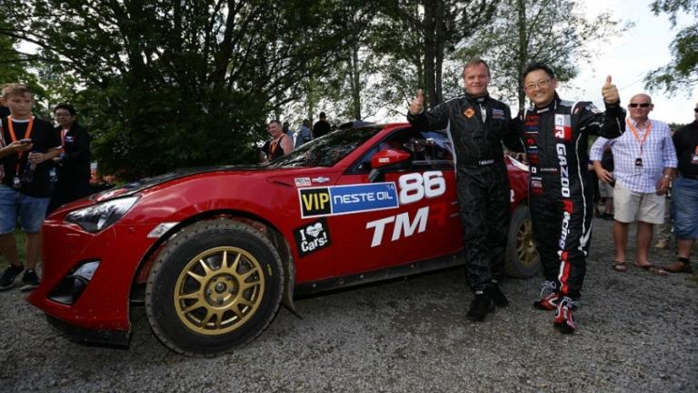 WRC – La nuova Toyota GT86 4×4 debutta in Finlandia