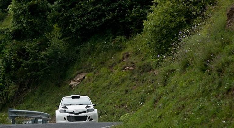 WRC – La nuova Yaris in prova sugli asfalti liguri