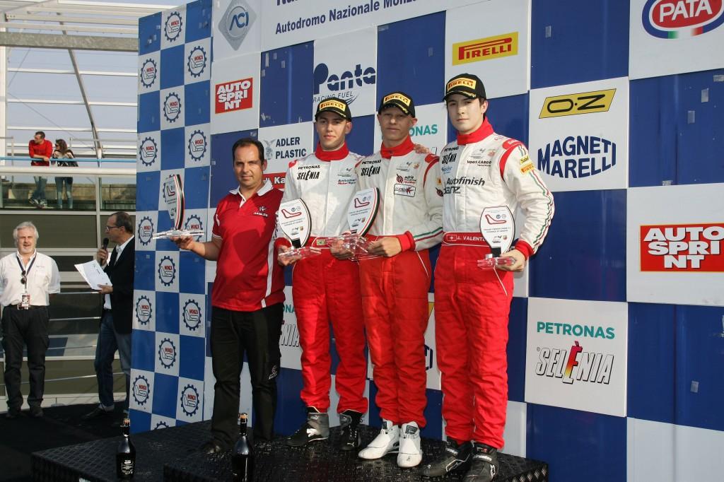 F4 – Secondo posto ricco di talento per Joao Vieira a Monza