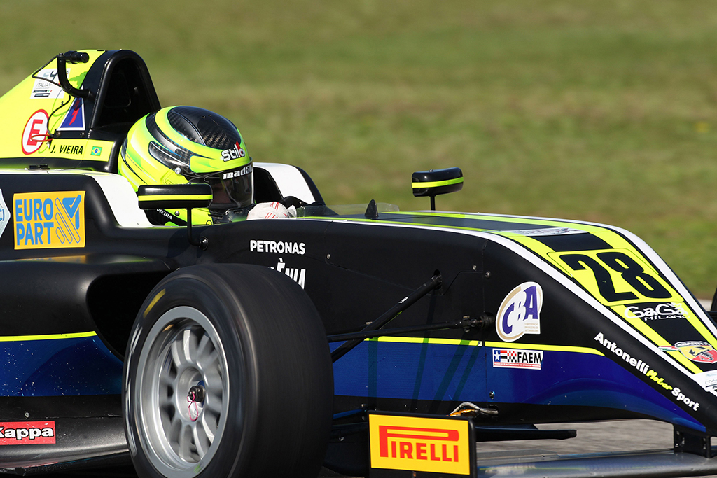 "F4 – Joao Vieira ""A Vallelunga pensando ad un nuovo podio"""