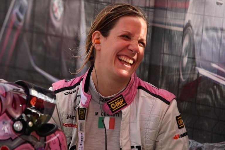 Michela Cerruti si prepara al debutto nella Formula E