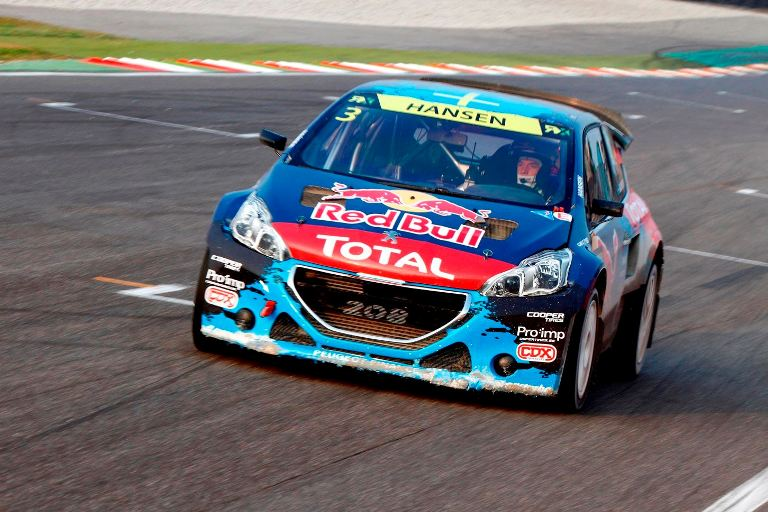 WRX – Peugeot Sport e il Team Hansen vincono al Franciacorta