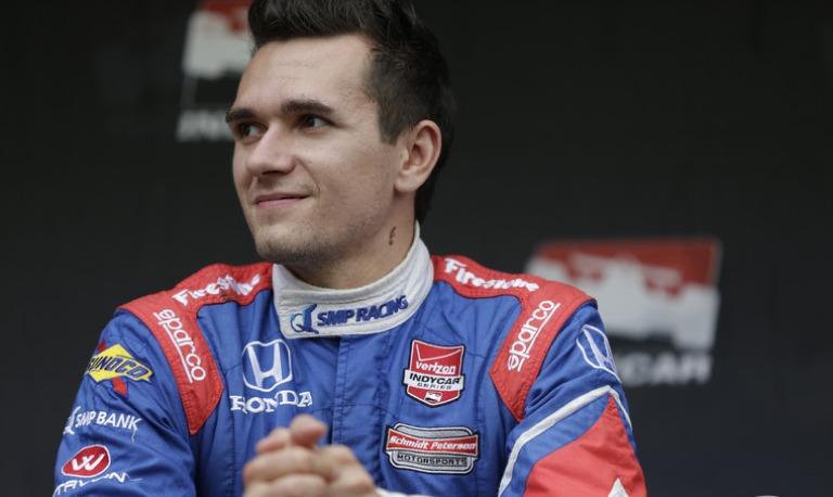 IndyCar – Condizioni stabili per Aleshin