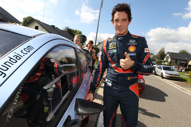 WRC – Neuville fa centro all'East Belgian