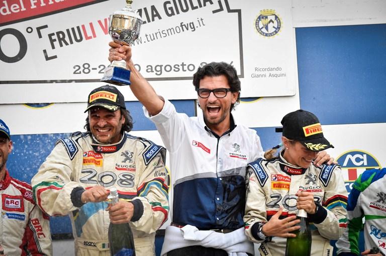 CIR – Andreucci trionfa in Friuli