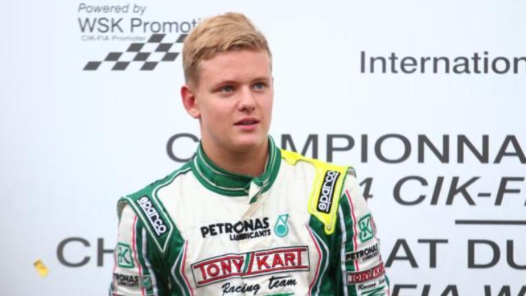 Schumacher Jr. vice campione kart