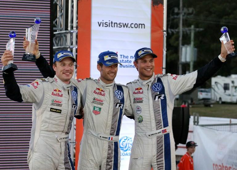"""WRC – Ogier: """"Orgoglioso del team"""""""