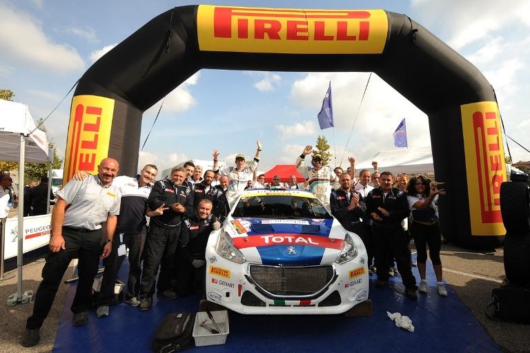 CIR – Pirelli campionessa con Andreucci
