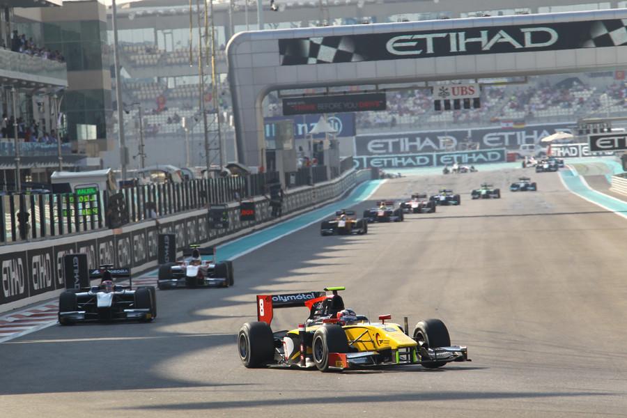 GP2 e GP3: l'entry list del primo giorno di test ad Abu Dhabi