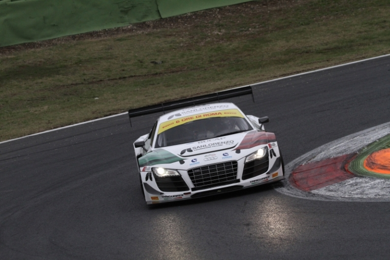 6 Ore di Roma – Audi vince tra le GT3