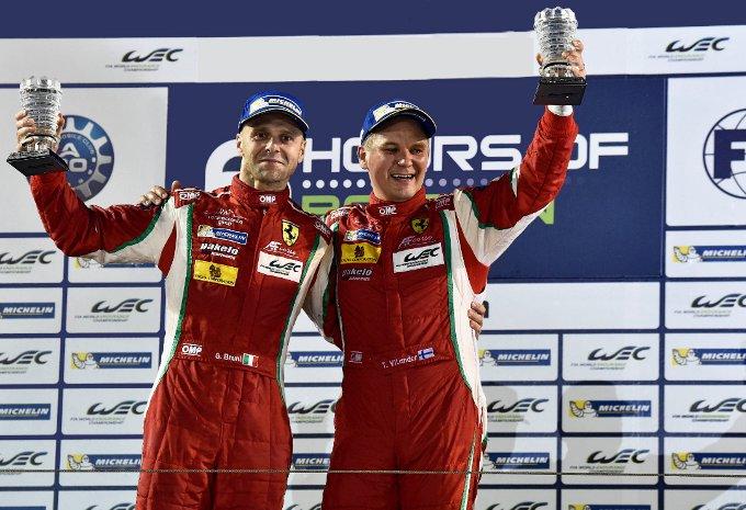 FIA World Endurance Championship – Ferrari: Bruni e Vilander campioni del mondo