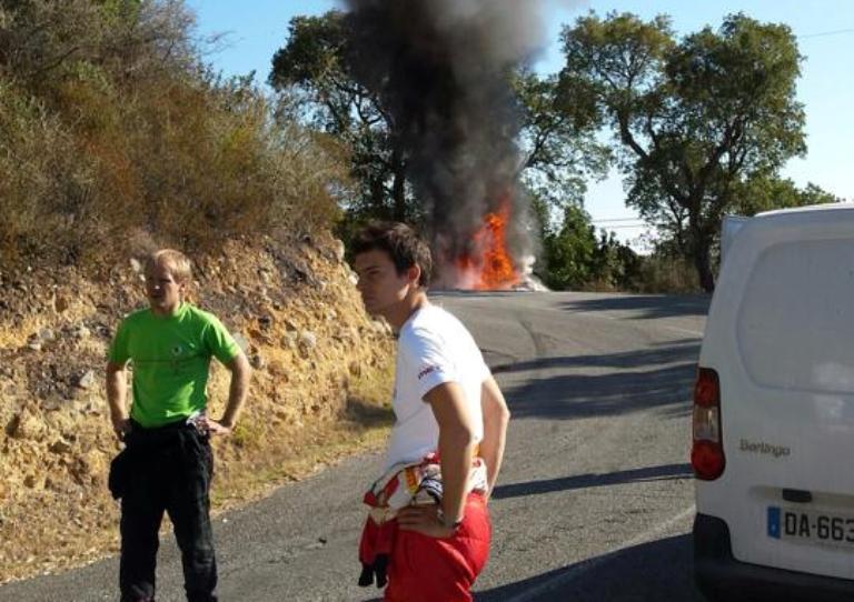 ERC – Wiegand dice addio al titolo con un incendio durante i test