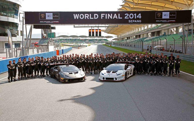 Il Lamborghini Blancpain Super Trofeo conferma il format
