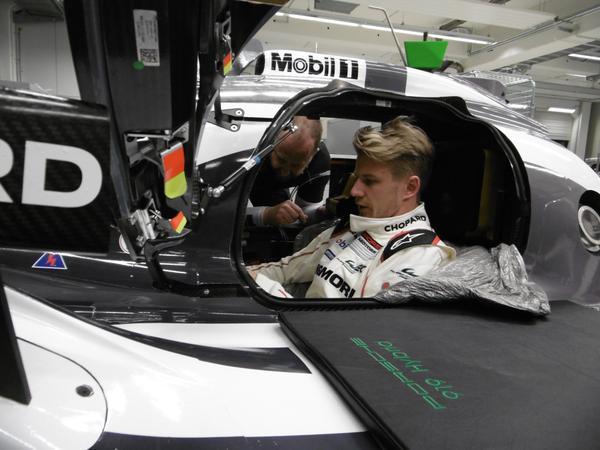 WEC – Primi giri sulla Porsche per Nico Hulkenberg