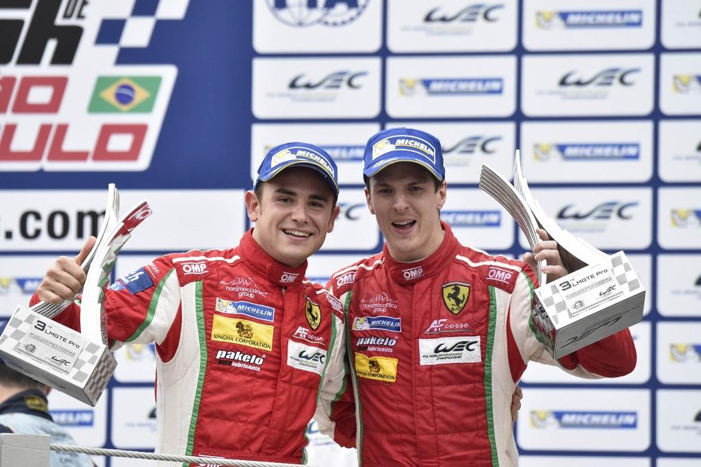 FIA WEC, 6 ore San Paolo – Chiusura di stagione con titolo Costruttori Ferrari e podio per Davide Rigon