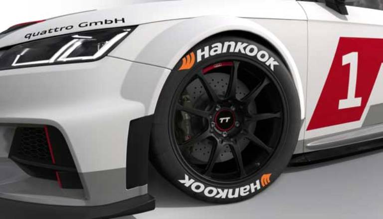 Hankook fornitrice ufficiale della Audi Sport TT Cup