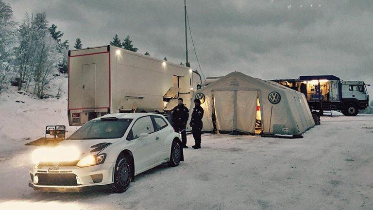 WRC – Test in Svezia per la Volkswagen