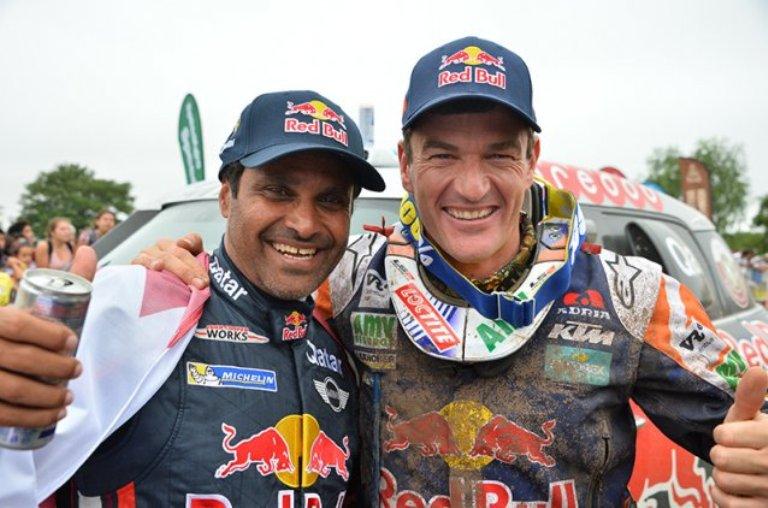 Al-Attiyah domina l'edizione 2015 della Dakar