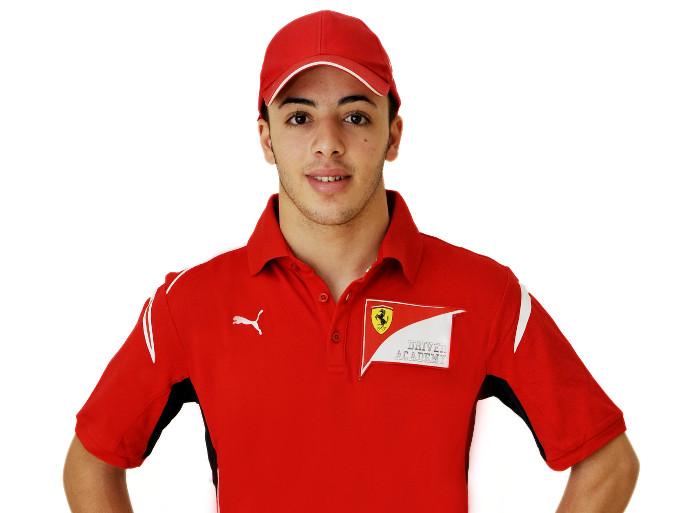 Ferrari: Antonio Fuoco debutta in GP3