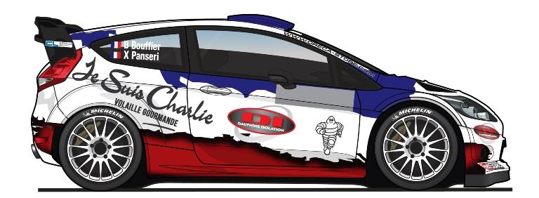 WRC – Bouffier omaggia Charlie Hebdo