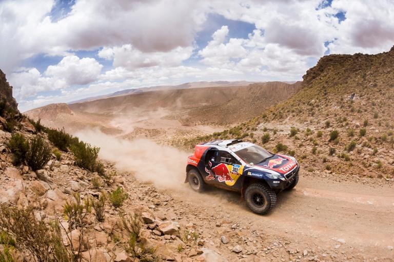 Speciale Dakar 2015: Peterhansel ancora tra i primi dieci