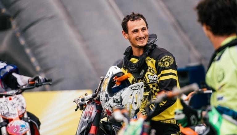 Morto Ferrari, principino del Freestyle Motocross