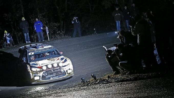 WRC – Loeb guida il Montecarlo