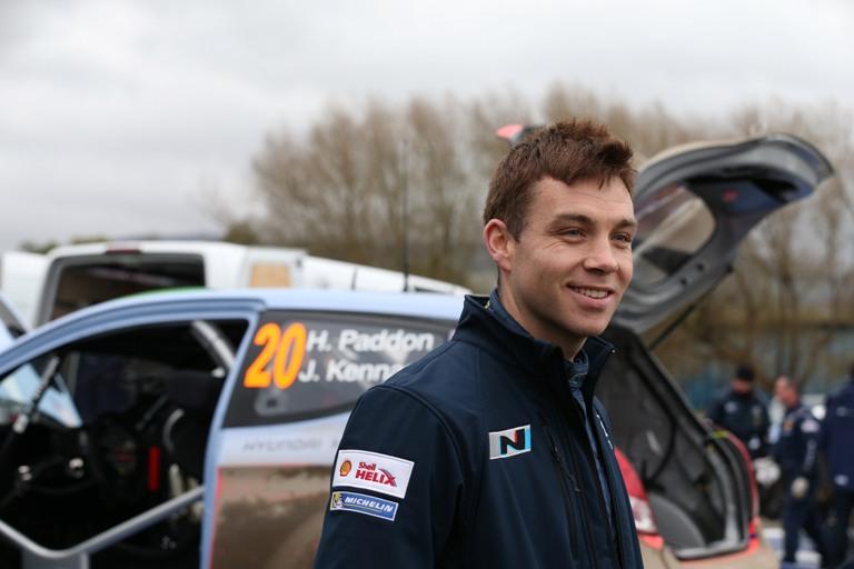 WRC – Paddon al via in dodici prove