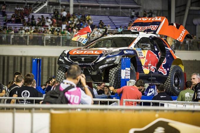 Speciale Dakar 2015: E' quasi partenza per le tre Peugeot