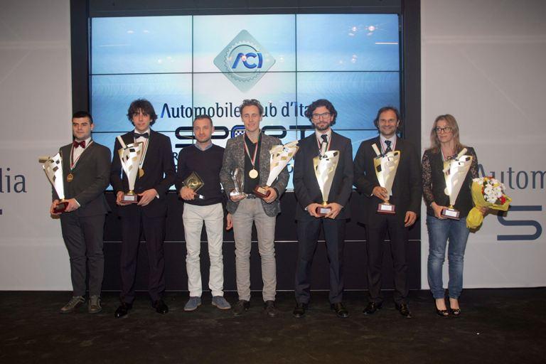 CIR – Andreucci premiato con il Volante ACI