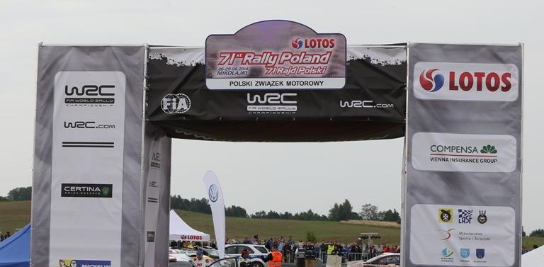 WRC – Il Rally di Polonia si rivoluziona
