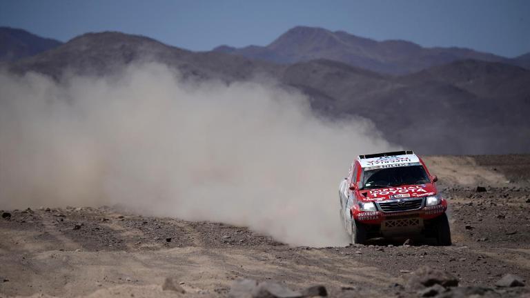 Dakar 2015 – Terranova fa sua la settima tappa
