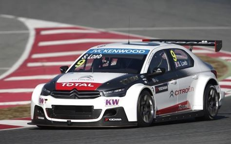 WTCC – Citroen dominatrice nei test collettivi