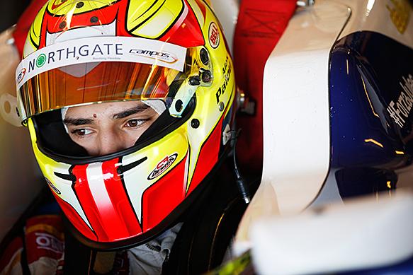 GP3 – In Campos Alex Palou e Zaid Ashkanani