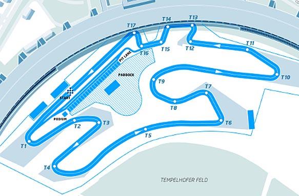 Formula E – Presentato il circuito di Berlino