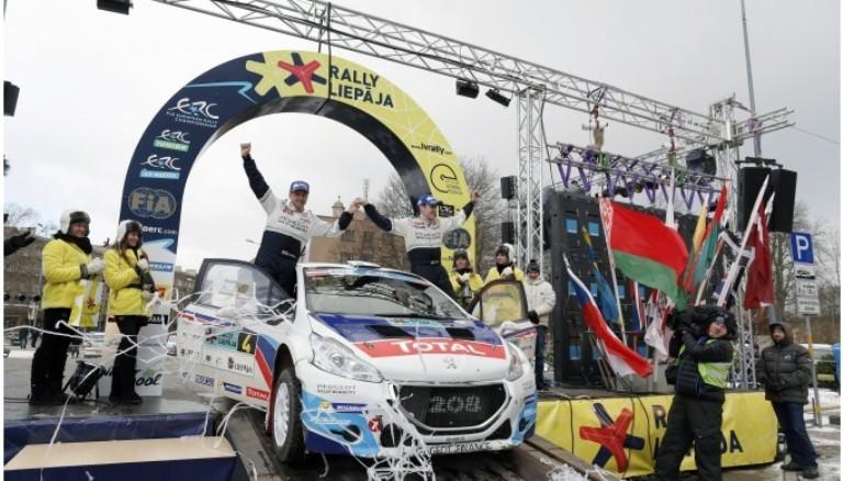 ERC – Breen vince in Lettonia